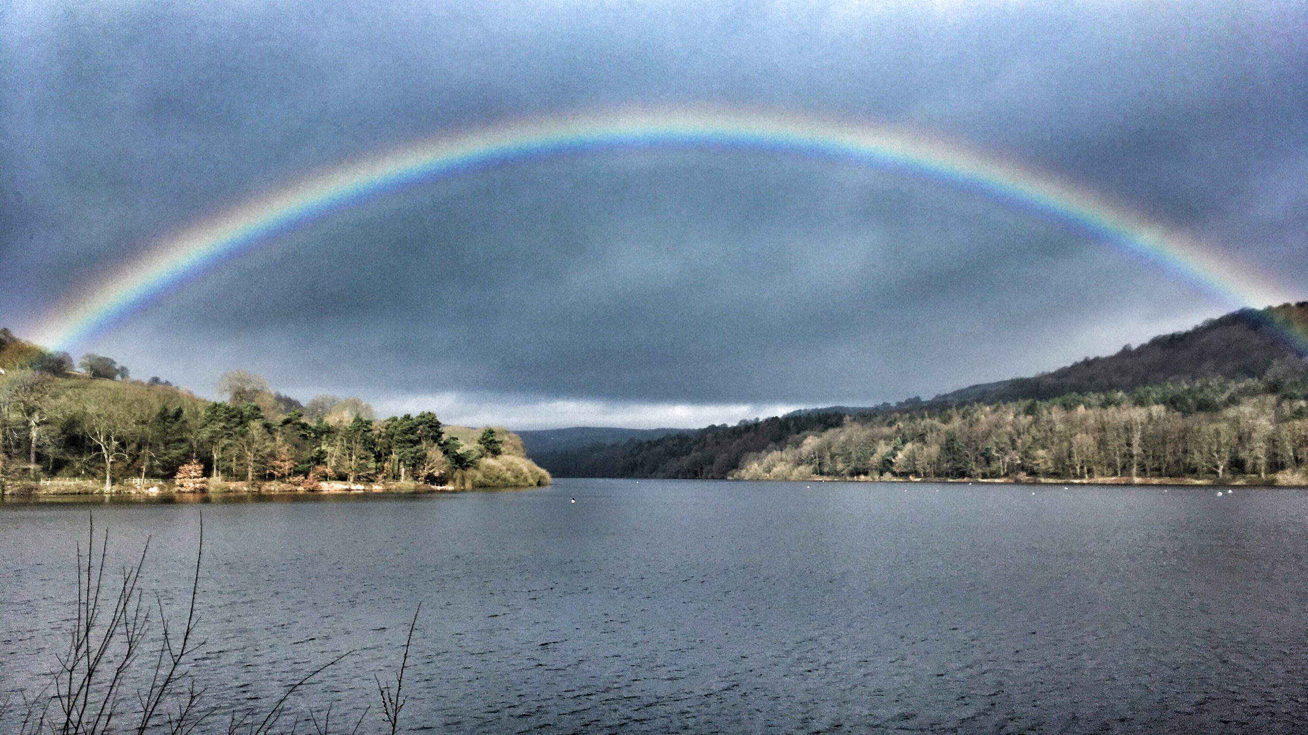 Rainbow over Damflask