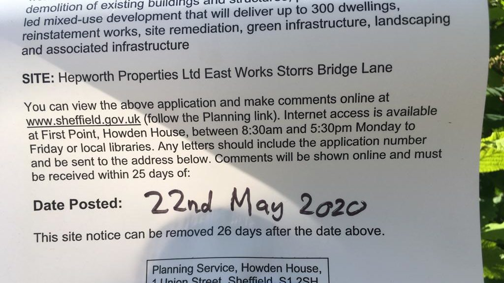 Deadline for Loxley valley township planning objections is now mid June