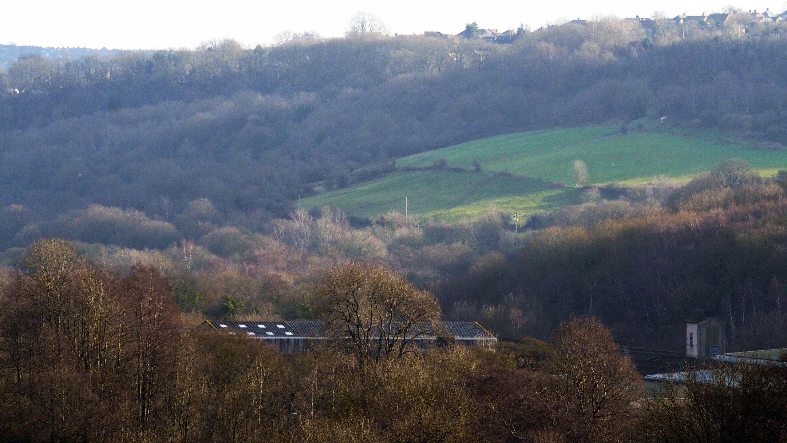 The old Hepworth factory site in the Loxley valley